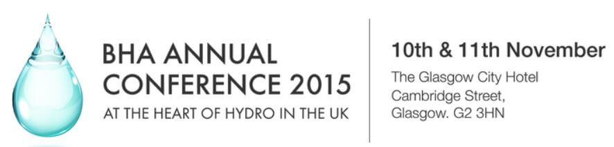 GoFlo attends British Hydropower Association 2015 Conference
