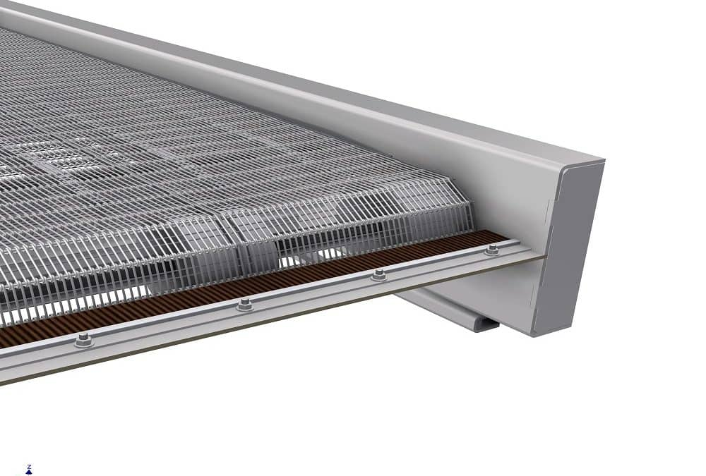 GoFlo self-cleaning screen extolled in key publication