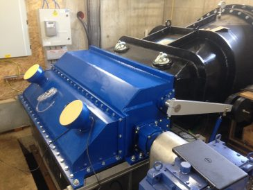 Cochwillan GoFlo screens used to boost output from Crossflow turbine.